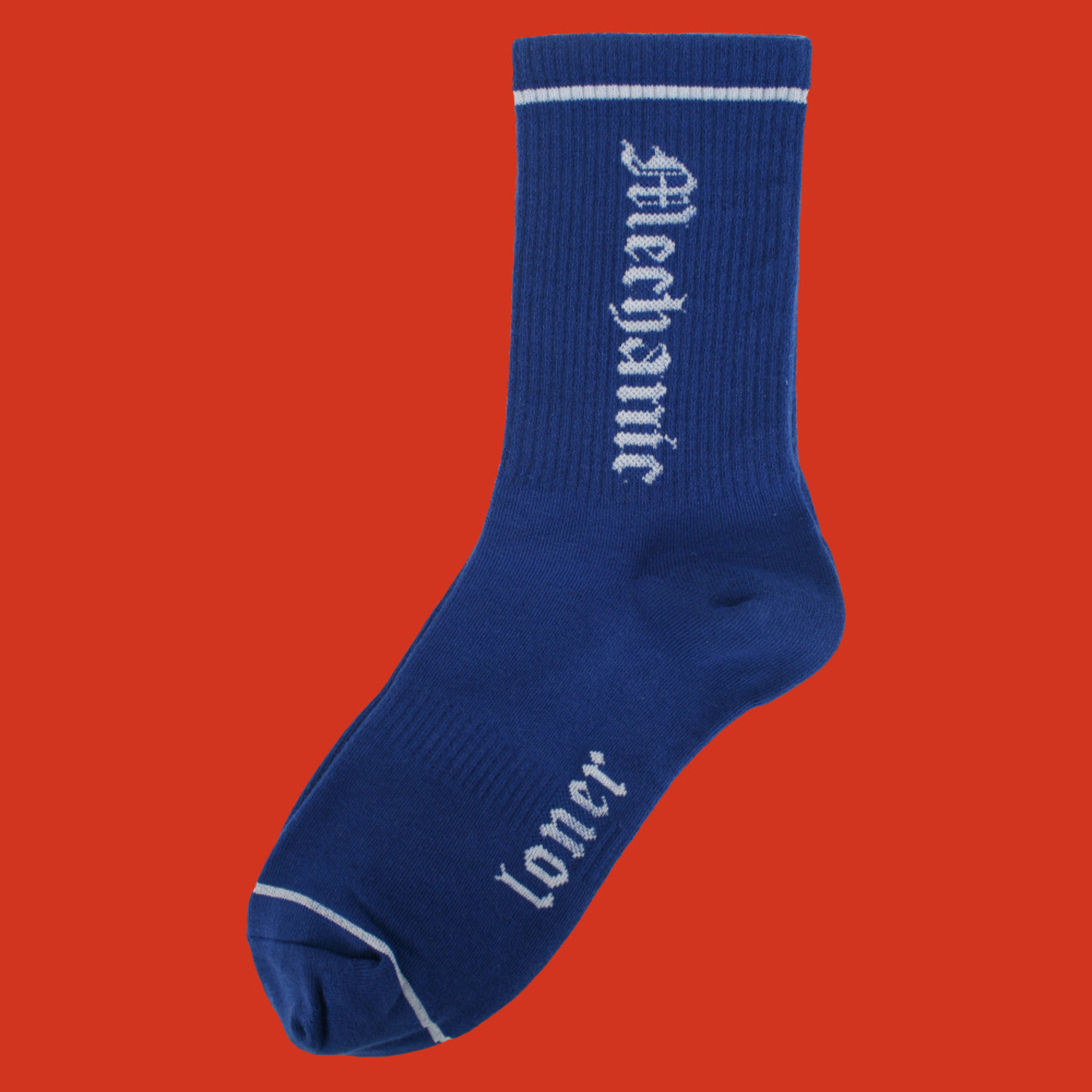 [로너] MECHANIC SOCKS-BLUE