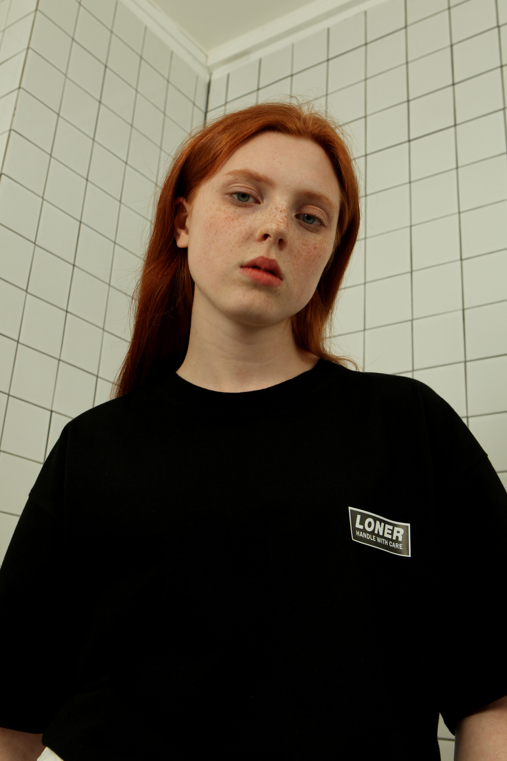 Handle with care tshirt-black (기간한정 09.11 - 09.17)