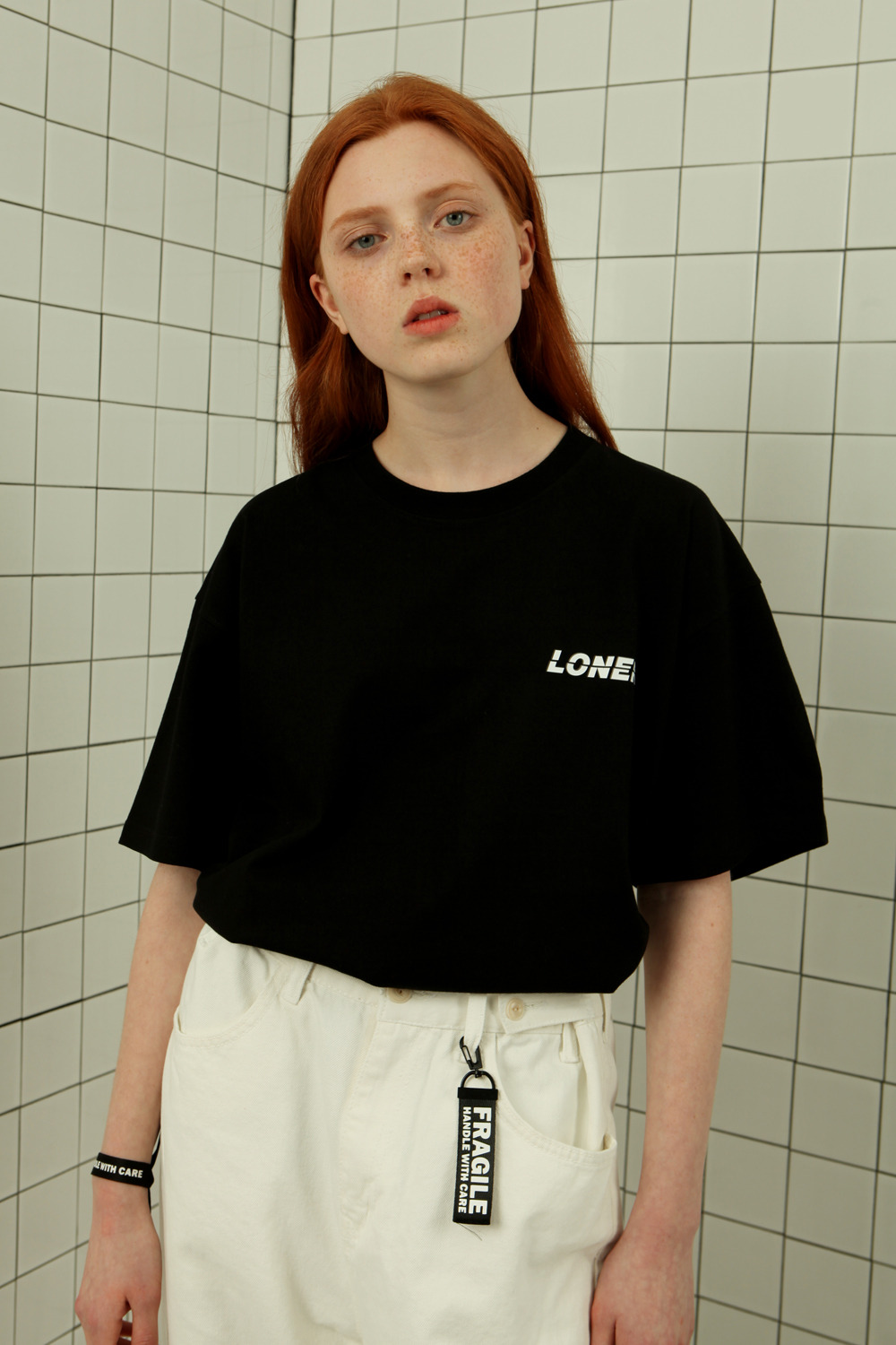 This way up tshirt-black (기간한정 09.11 - 09.17)