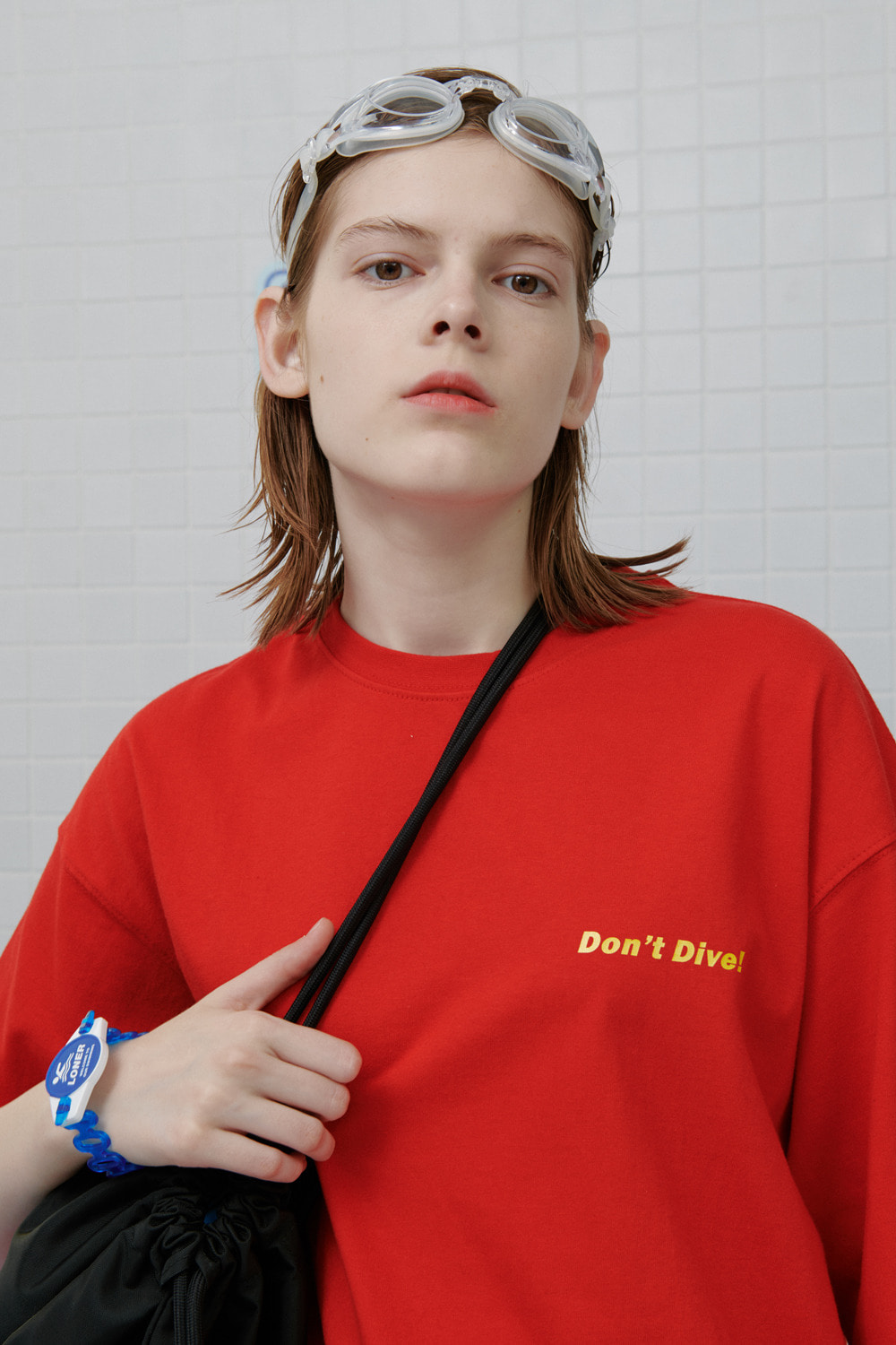 Don't dive tshirt-red (기간한정 09.11 - 09.17)