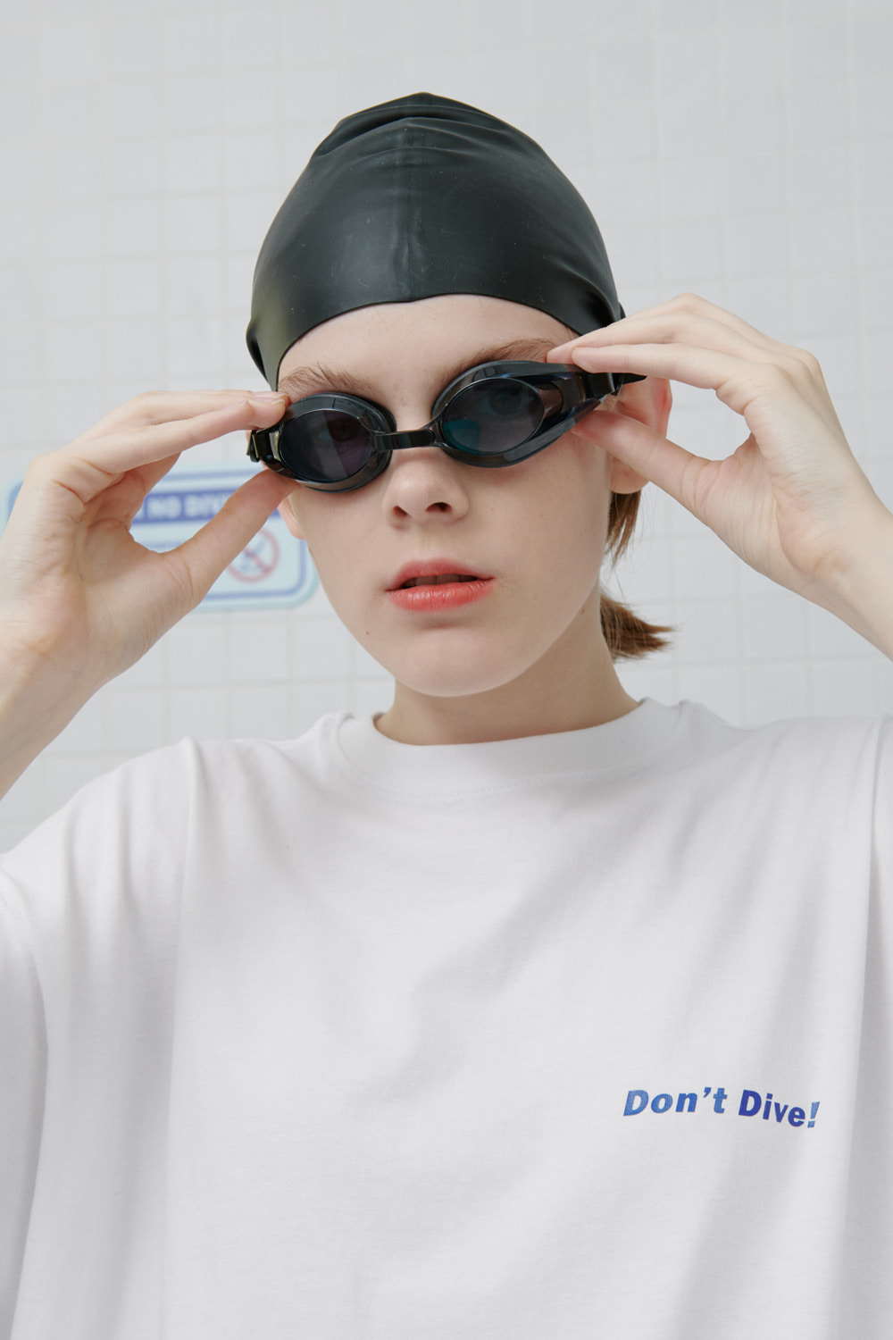 Don't dive tshirt-white (기간한정 09.11 - 09.17)