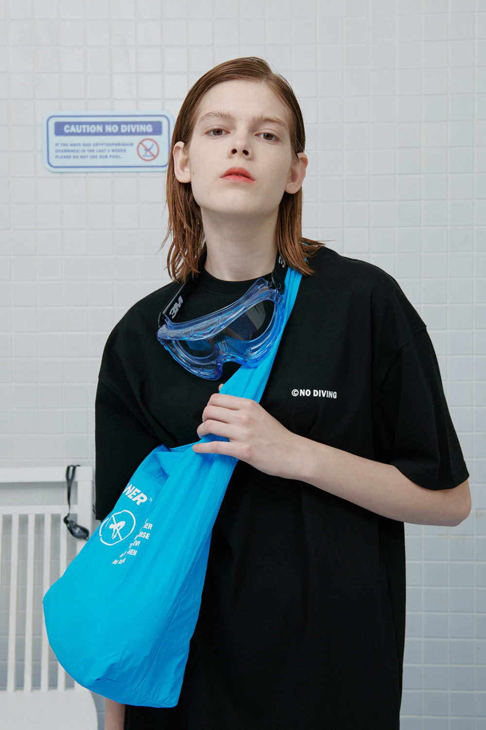No diving tshirt-black (기간한정 09.11 - 09.17)