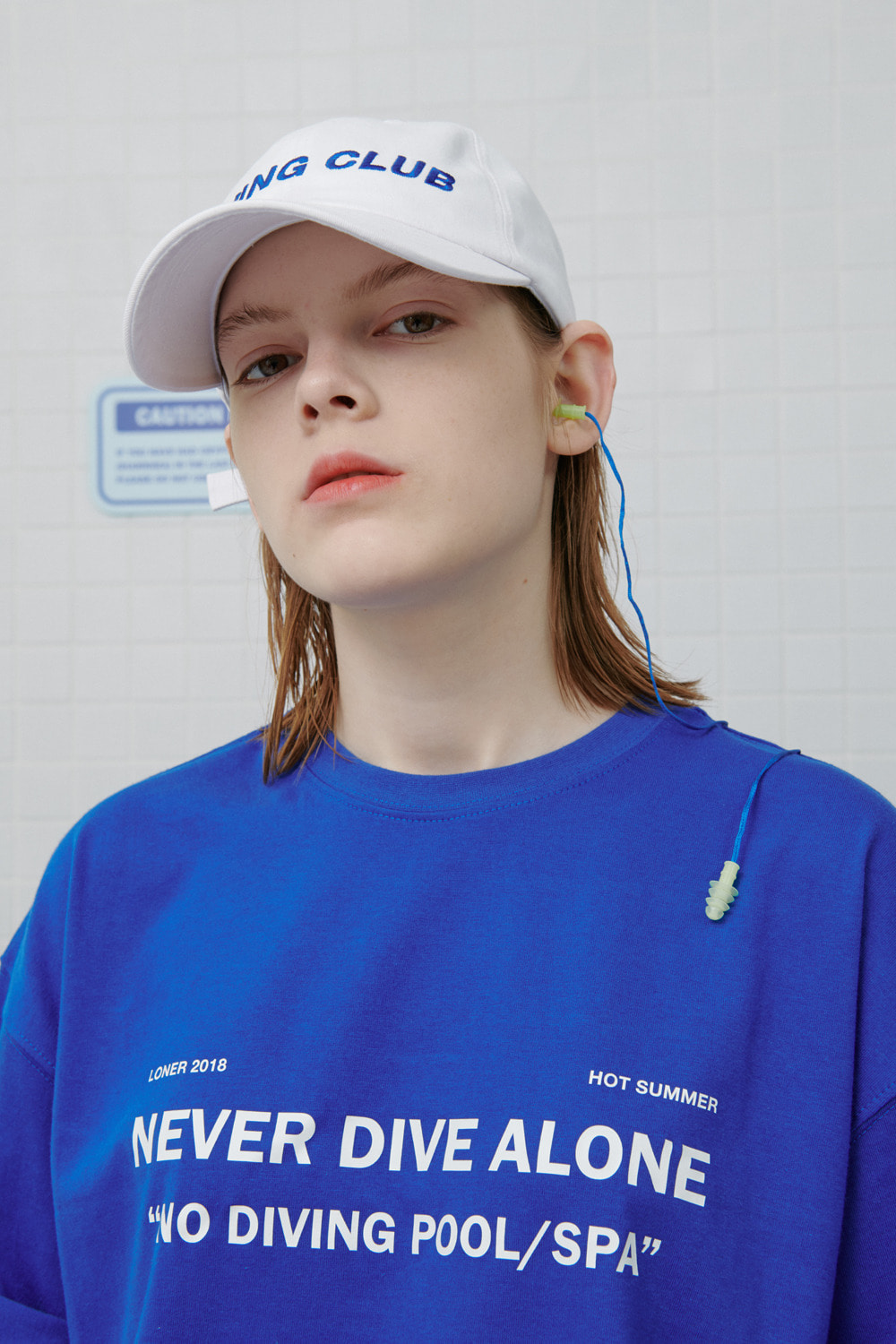 Diving club cap-white (기간한정 09.11 - 09.17)
