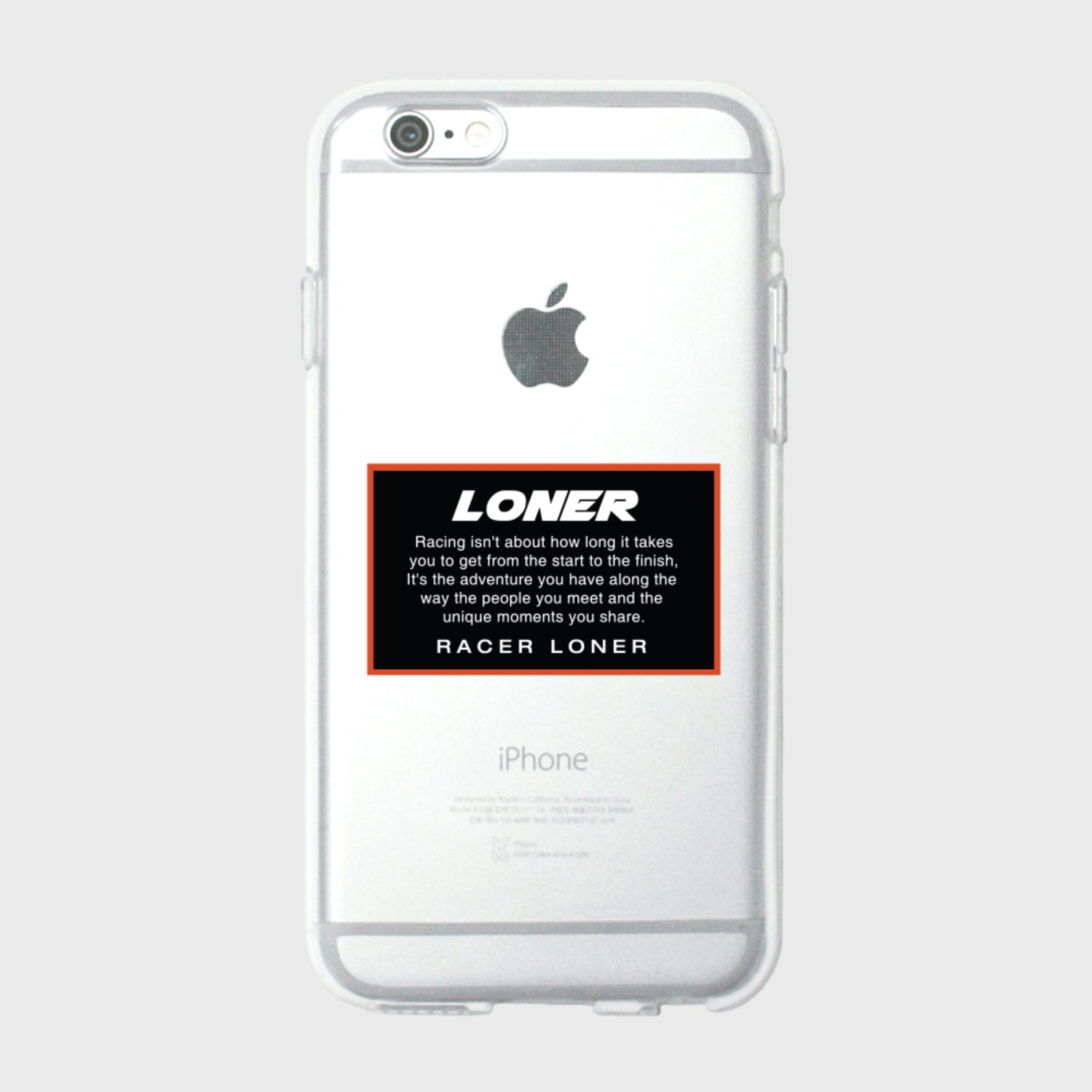 Racer loner-black(jelly case) (기간한정 09.11 - 09.17)