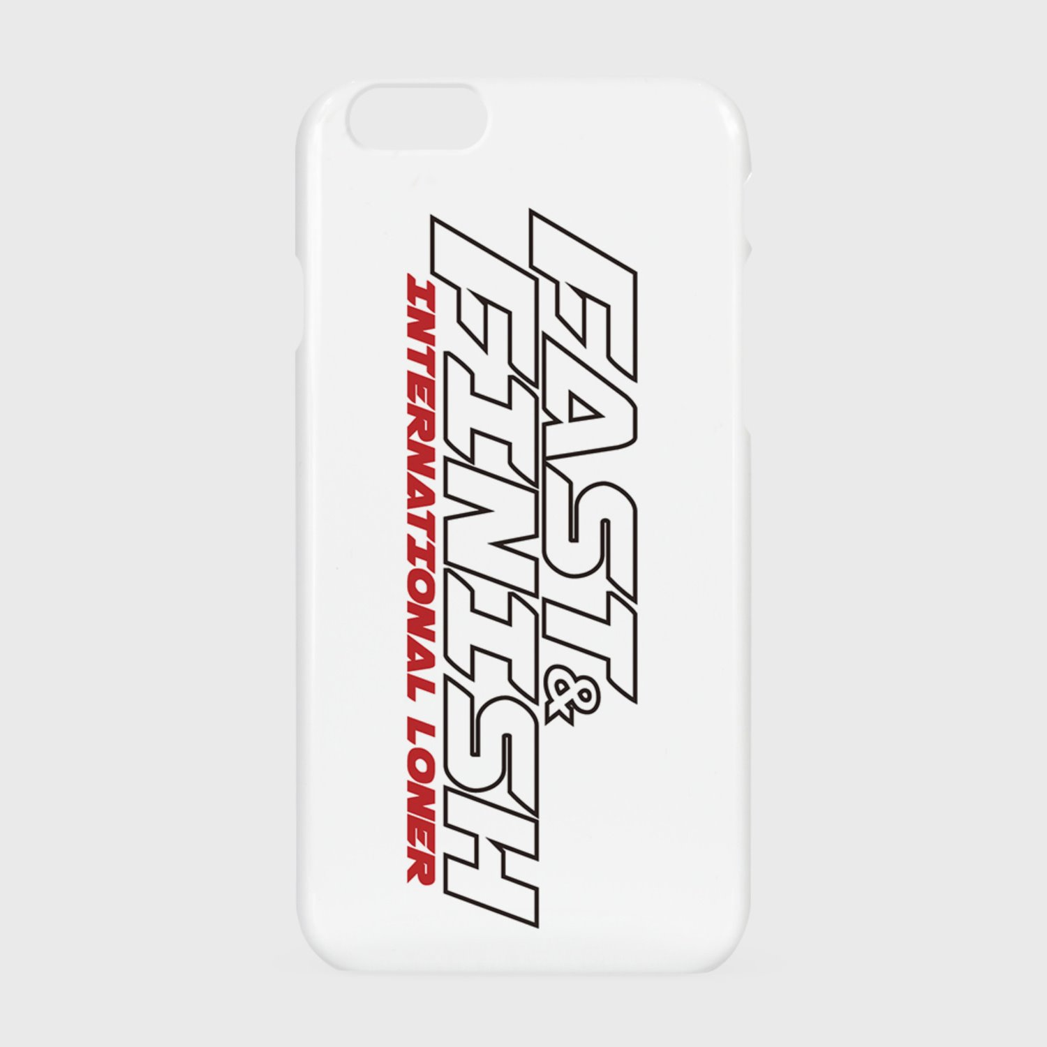Fast and finish case-white (기간한정 07.17 - 07.23)