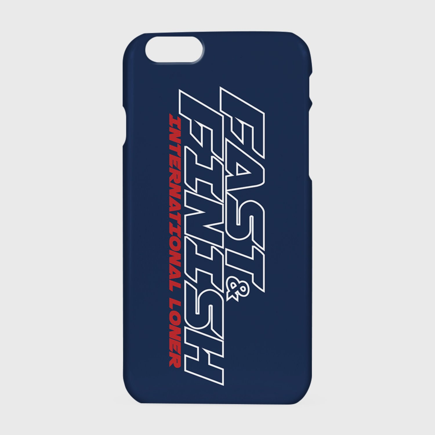 Fast and finish case-navy (기간한정 07.17 - 07.23)