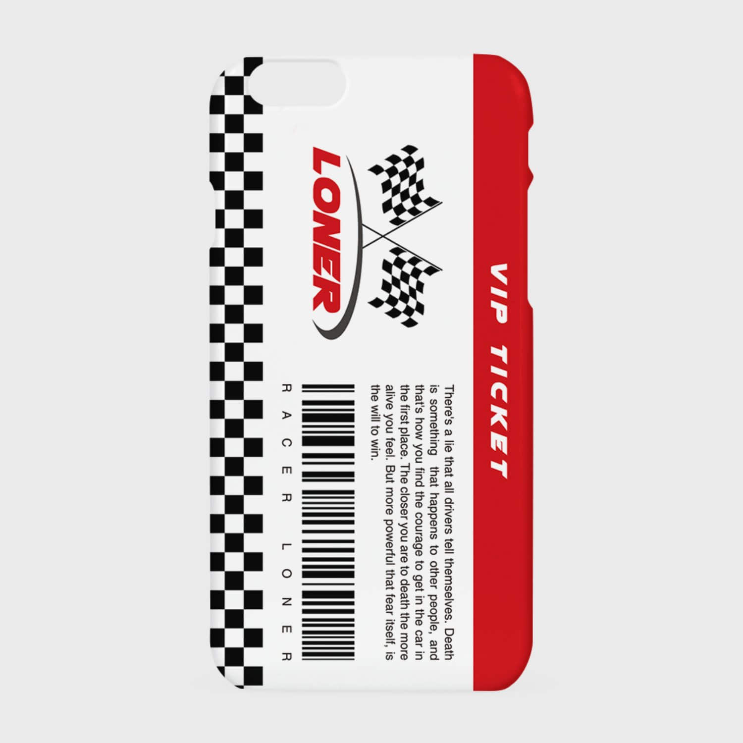 vip ticket case-red (기간한정 07.17 - 07.23)
