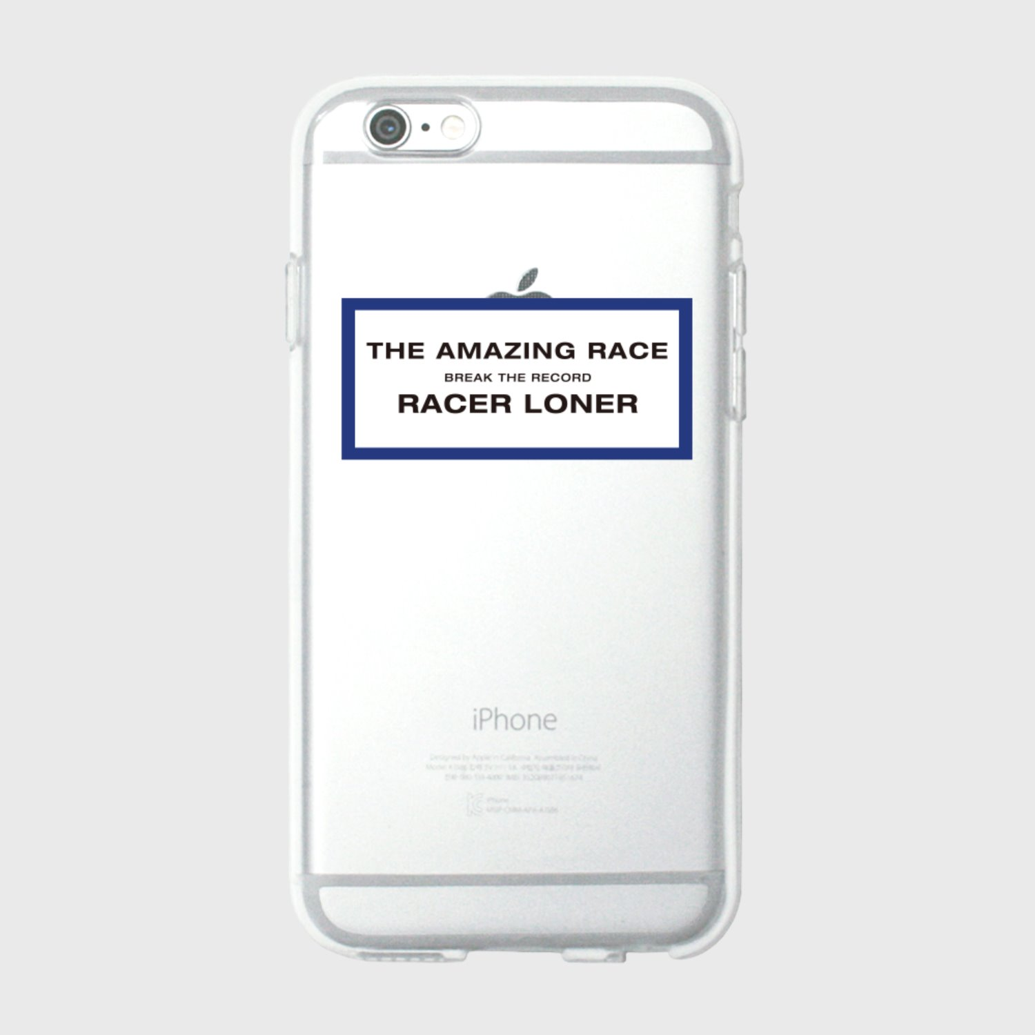 The amazing race-blue(jelly case) (기간한정 09.11 - 09.17)