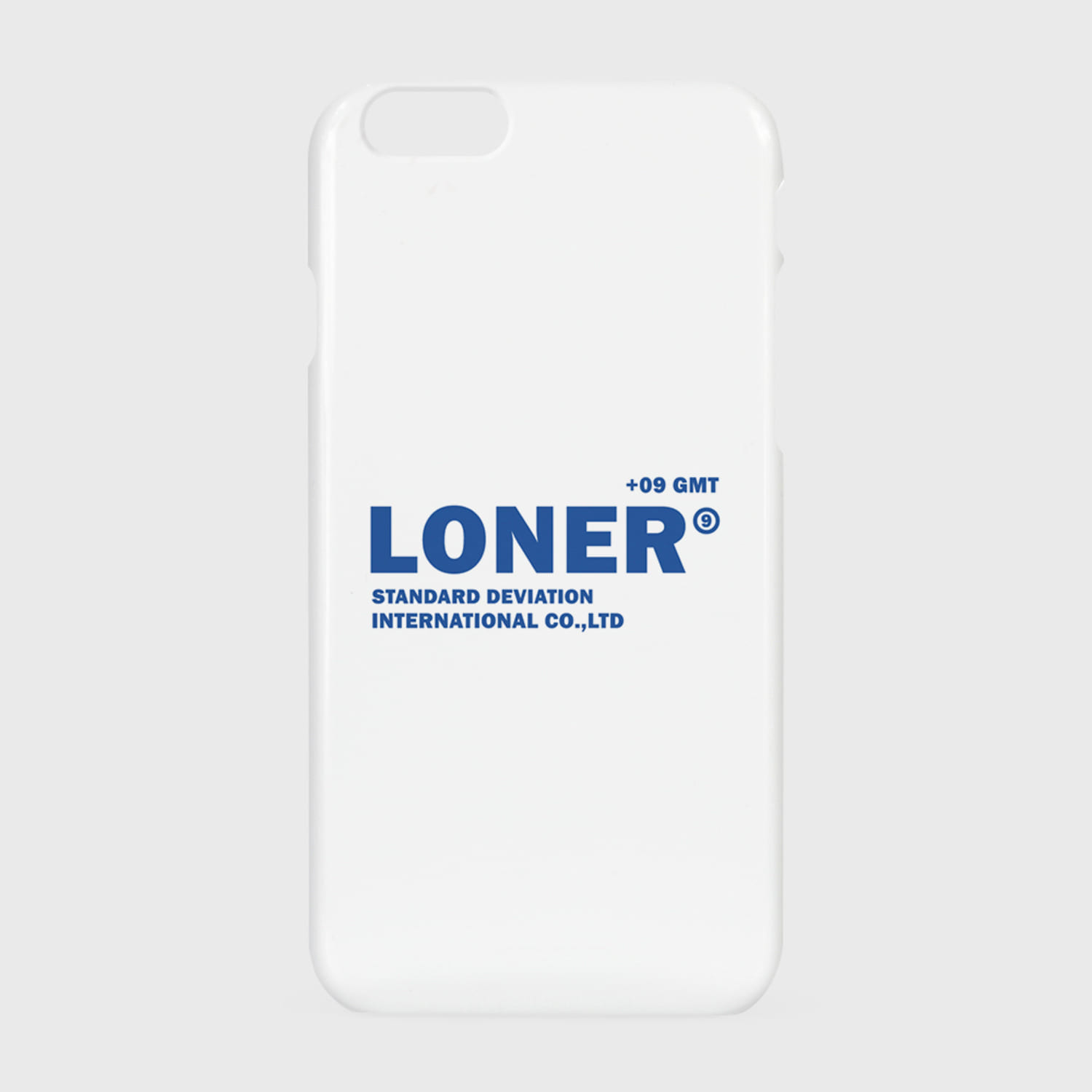 [L]Basic gmt logo case-white(hard)(기간한정 09.11 - 09.17)