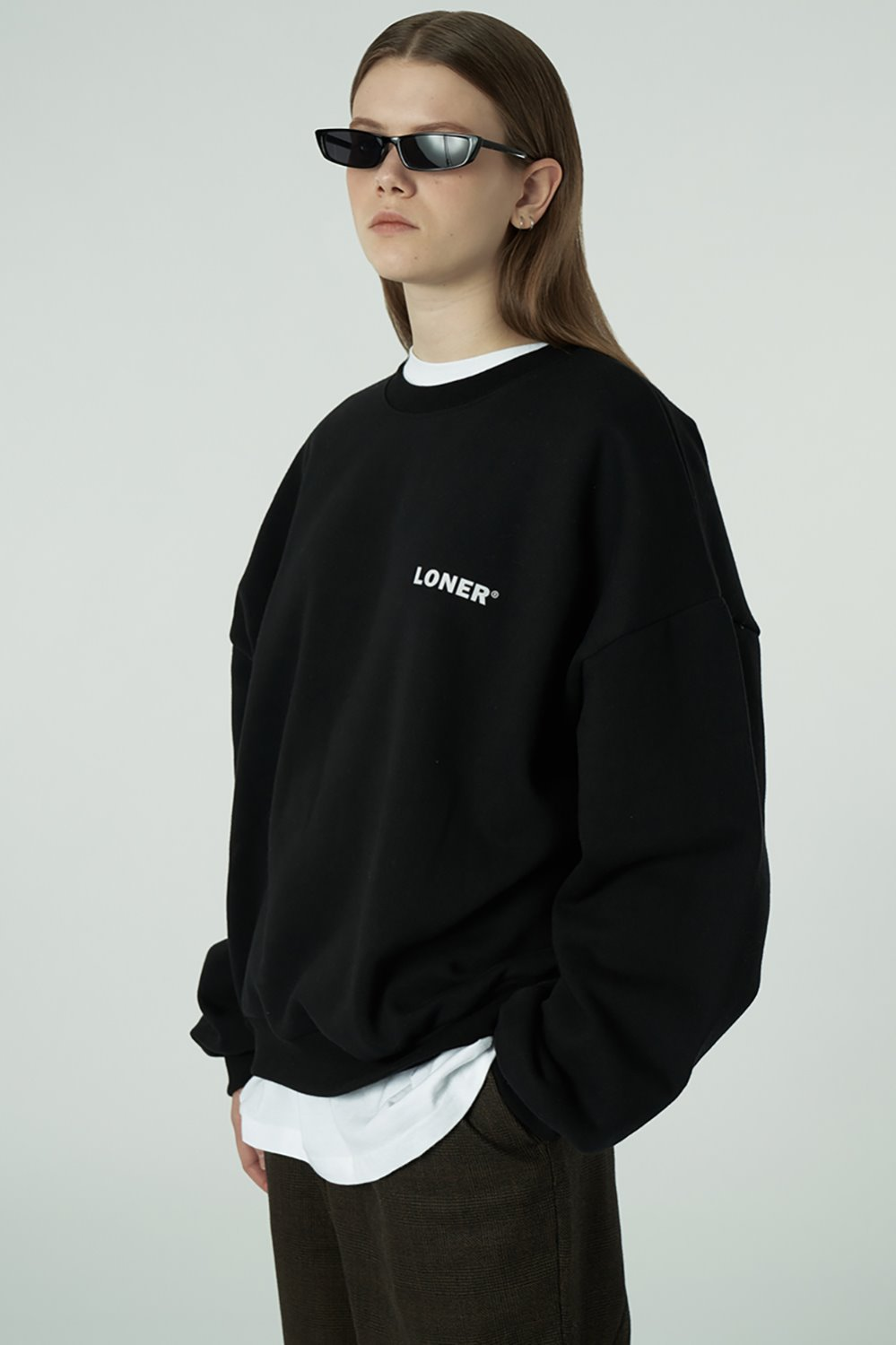 [20SS OPEN SALE][L] Basic gmt sweatshirt-black (기간한정 04.03 - 04.09)