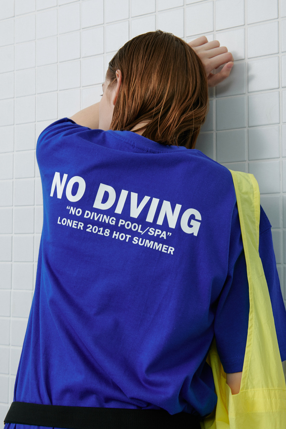 No diving tshirt-blue (기간한정 8.09 - 8.18)