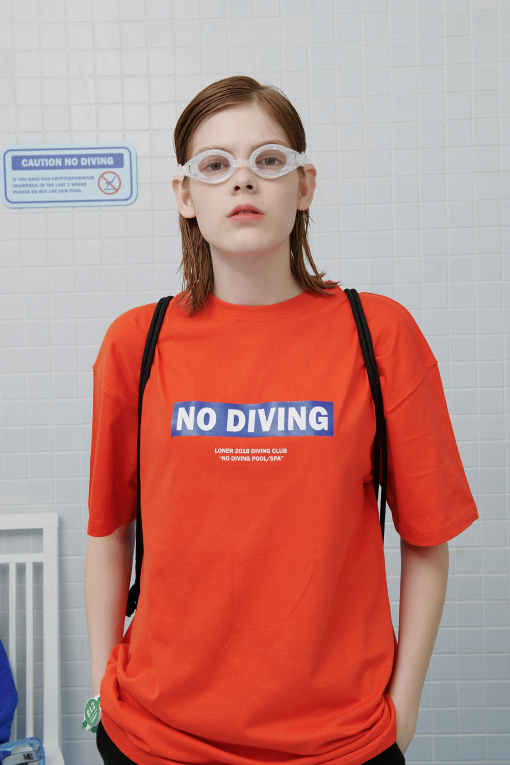 No diving tshirt-orange (기간한정 09.11 - 09.17)