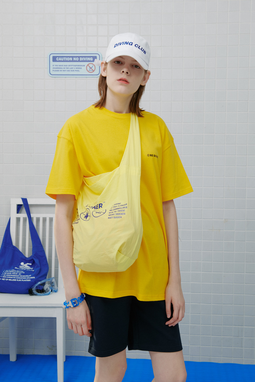 No diving tshirt-yellow (기간한정 8.09 - 8.18)